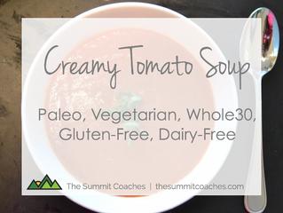 Recipe: Creamy Tomato Soup - Gluten Free, Dairy Free, Paleo, Whole30