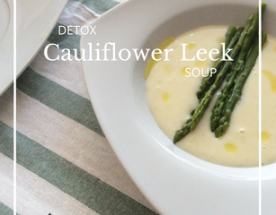 Recipe: Detox Cauliflower Leek Soup
