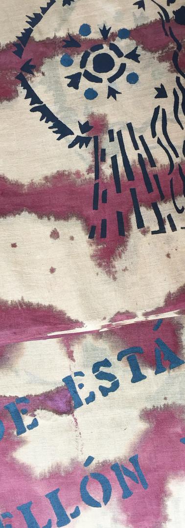 Echarpe ou paréo en voile de coton 190x65cm