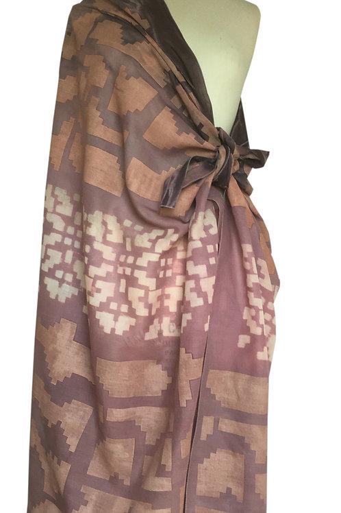 Grand paréo ou écharpe en coton ATHENA.....Vendue!