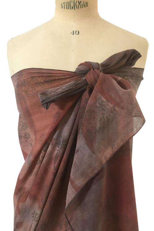 Grand paréo ou écharpe en coton  SARI