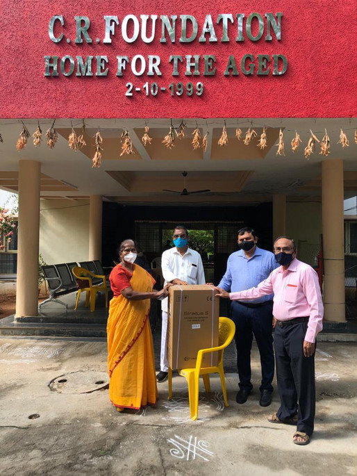 4 Oxygen Concentrators donated to CR Foundation.