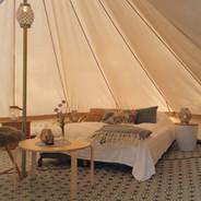 Seks telt for 3-5 personer