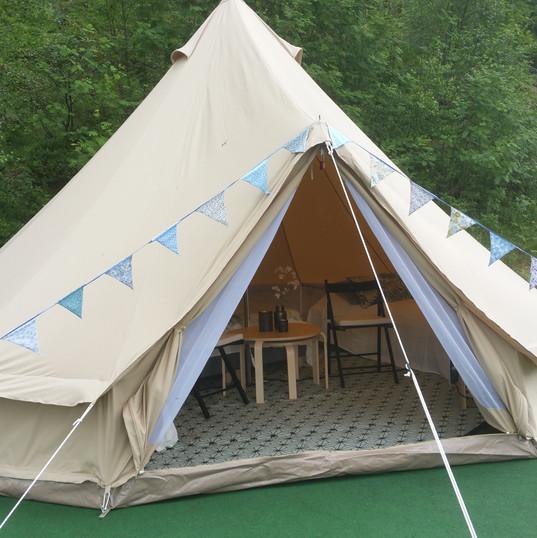 3 telt for 2-4 personer