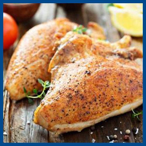 Pechuga de pollo con hueso