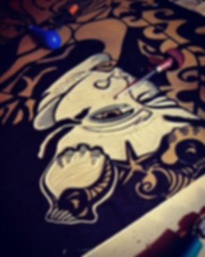 #ArtistDiyahNajah _#Printmaker _#ReliefC