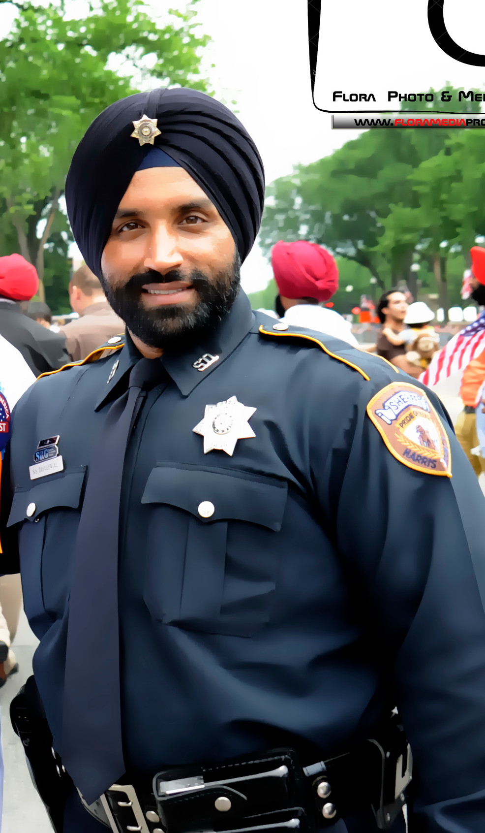 Harris County Deputy Sheriff Sandeep Singh Dhaliwal - Chief Guest of the Parade -2015 - Sikhs of Ame