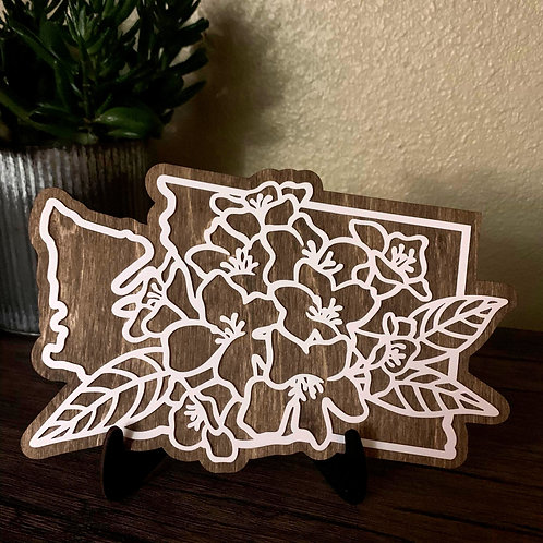 State Flower Cutout