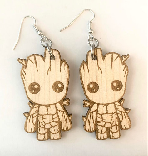 Super Hero Earrings