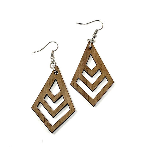 Chevron Arrowhead Earrings