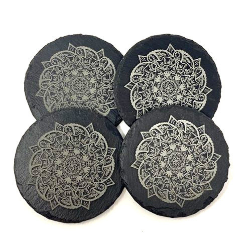 Swear Word Mandala Coasters