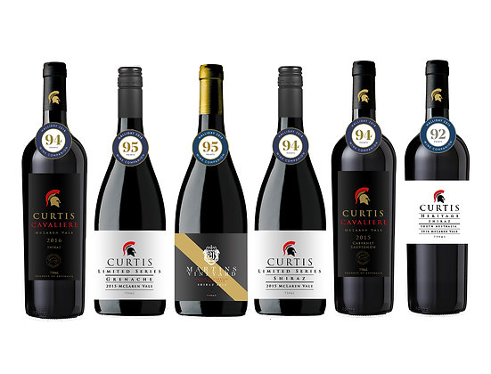 CFV James Halliday Awarded Red wines 6 pack