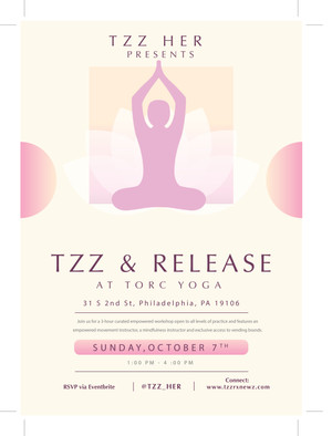 TZZ & Release Yoga Workshop