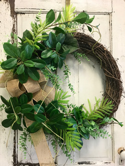 Natural Wreath Greensboro