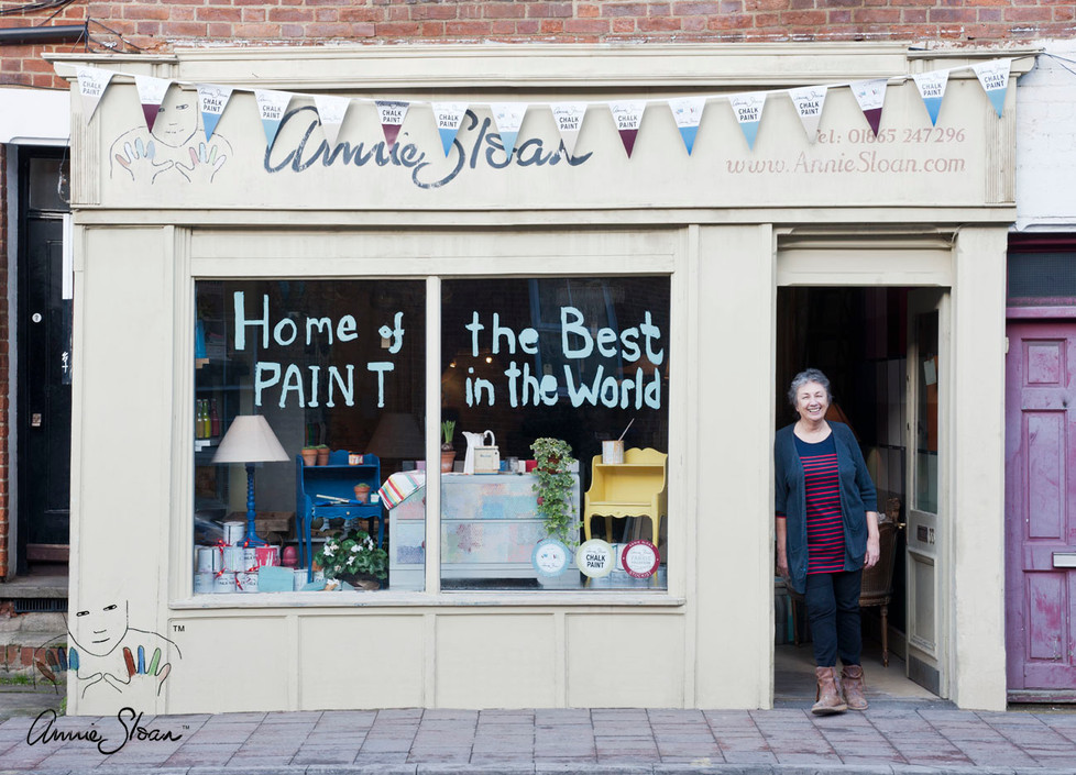Using Chalk Paint® by Annie Sloan