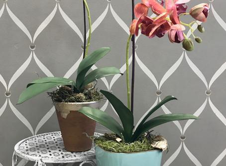 Custom, Handmade Silk Floral Arrangements