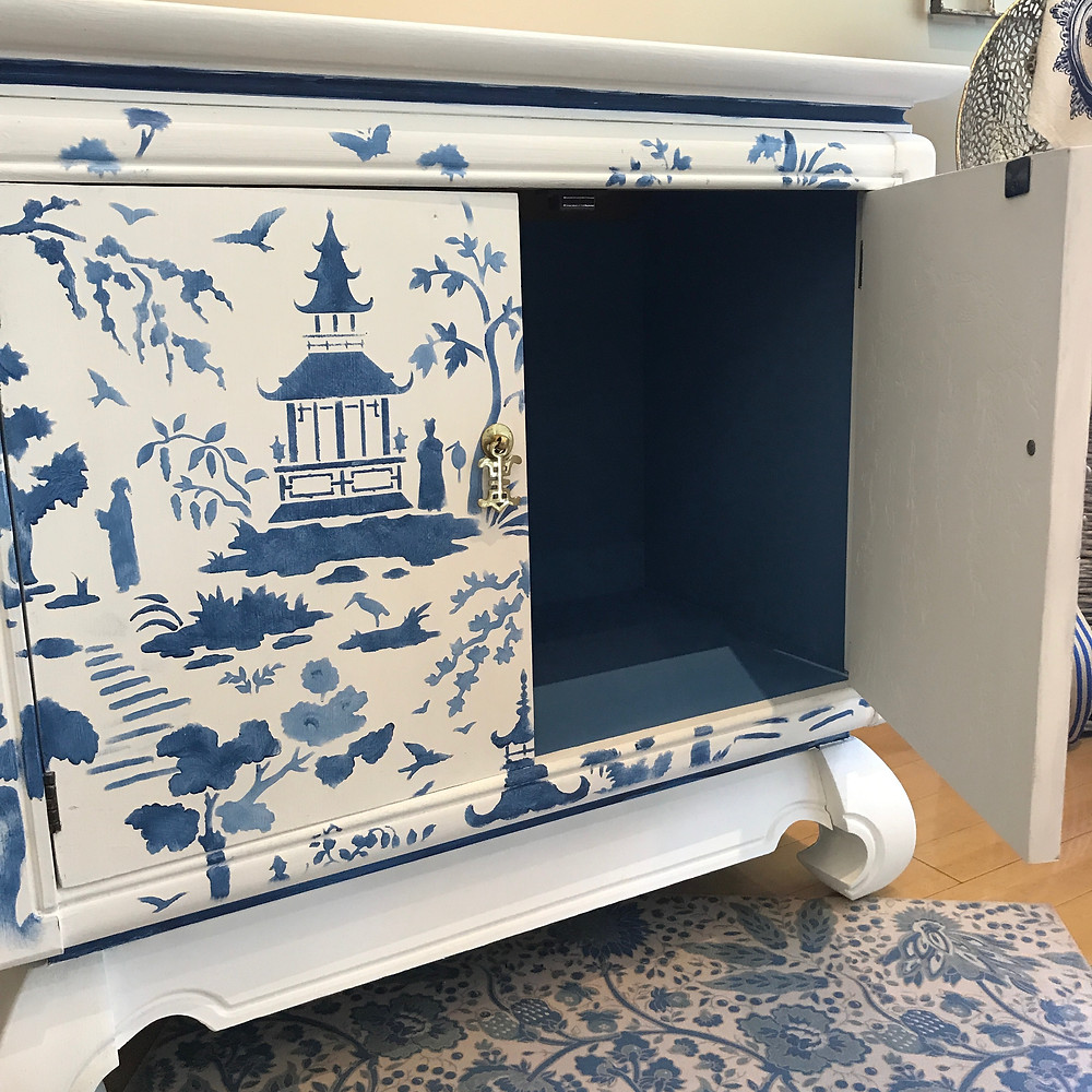 Chest Painted with Chalk Paint by Annie Sloan