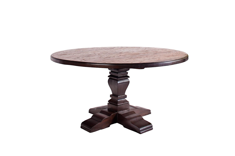 Rustic Home   Sheesham Teak Wood Distressed Dining Table Set