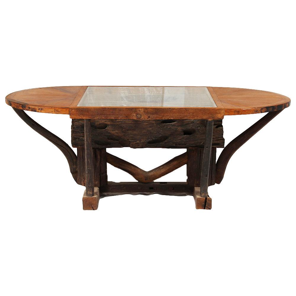 100 log dining room sets chair rustic home teak wood tree l