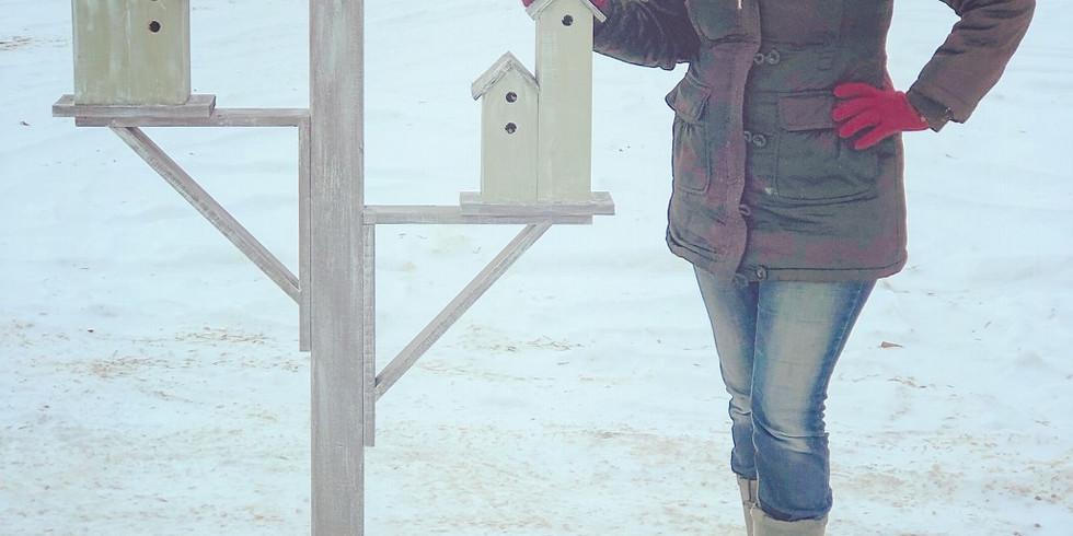 Paint a Birdhouse Village