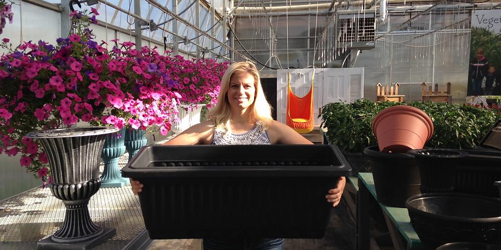 Large Veggie Planter Workshop, June 7