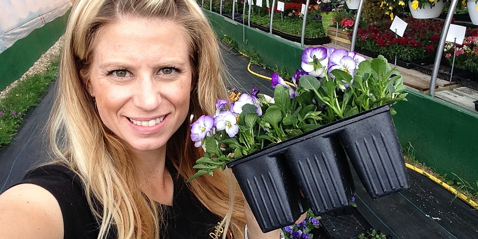 Drop In Class! Plant a Pansy Pot!!