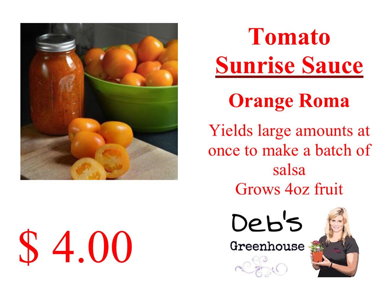 sunrise sauce
