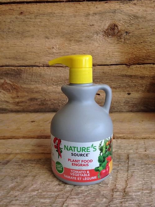 Nature's Source Fertilizer, small pump bottle