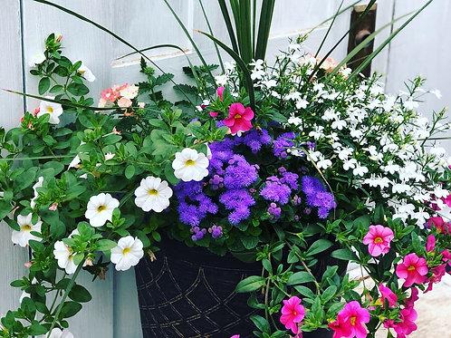 "Cute Porch Pot 13"" planter"