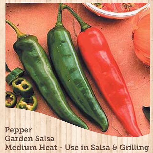 """Pepper Garden Salsa 3.5"""" pot"""