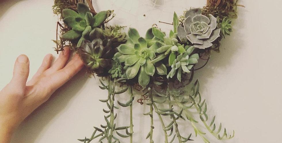 Grapevine Succulent Wreath - Feb 26 at 7:00pm - Westlock Grad Class