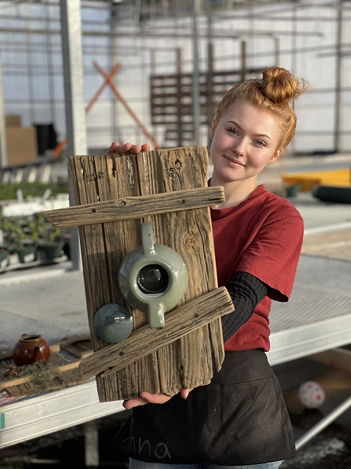 Local Maker! Birdhouse/Feeder #7
