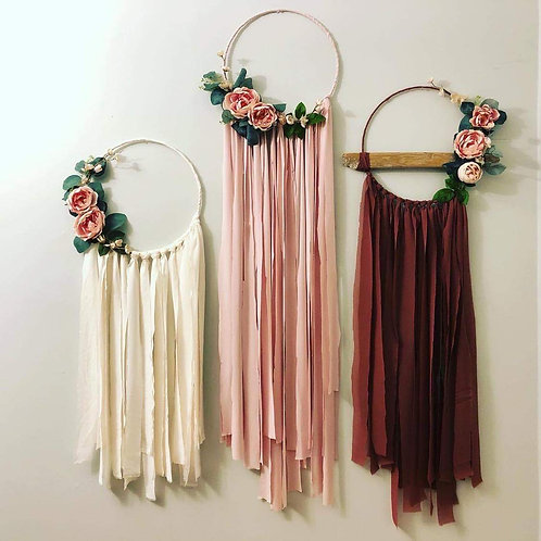 Staycation Kit- Boho Wall Hanger
