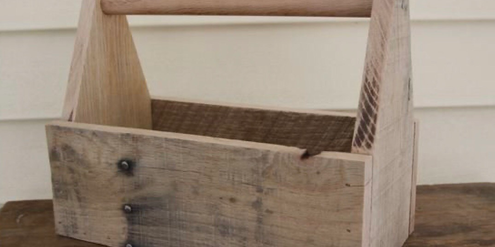 Girls 'N Tools:  Assemble a Wooden Toolbox $45