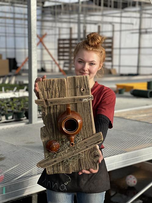 Local Maker! Birdhouse/Feeder #4