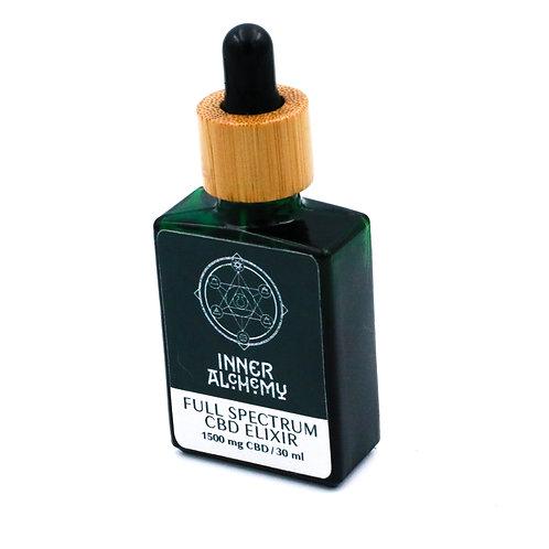 Full Spectrum CBD Elixir 1500mg : 30 ml