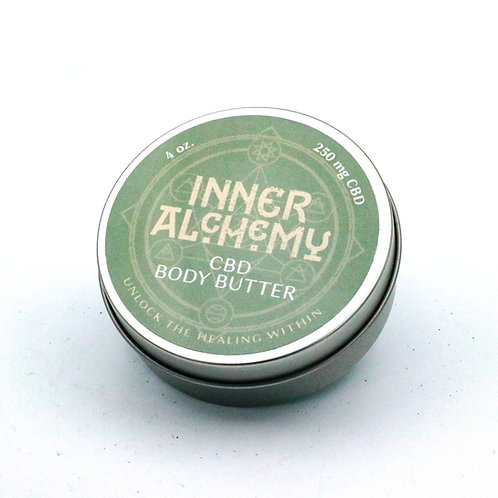 CBD Infused Body Butter 4 oz