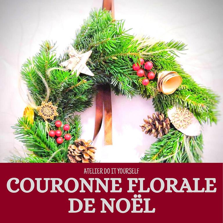 Couronne Florale de Noël