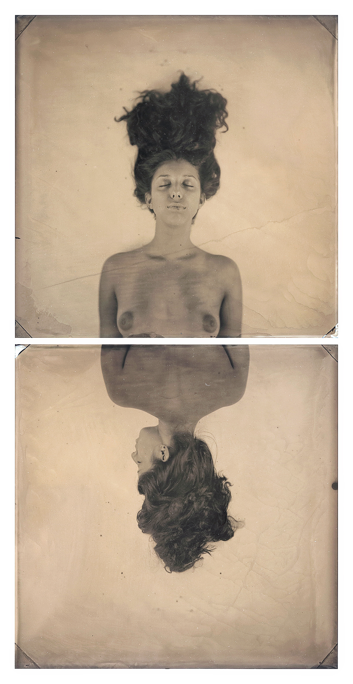 Practice Death, Untitled (diptych)