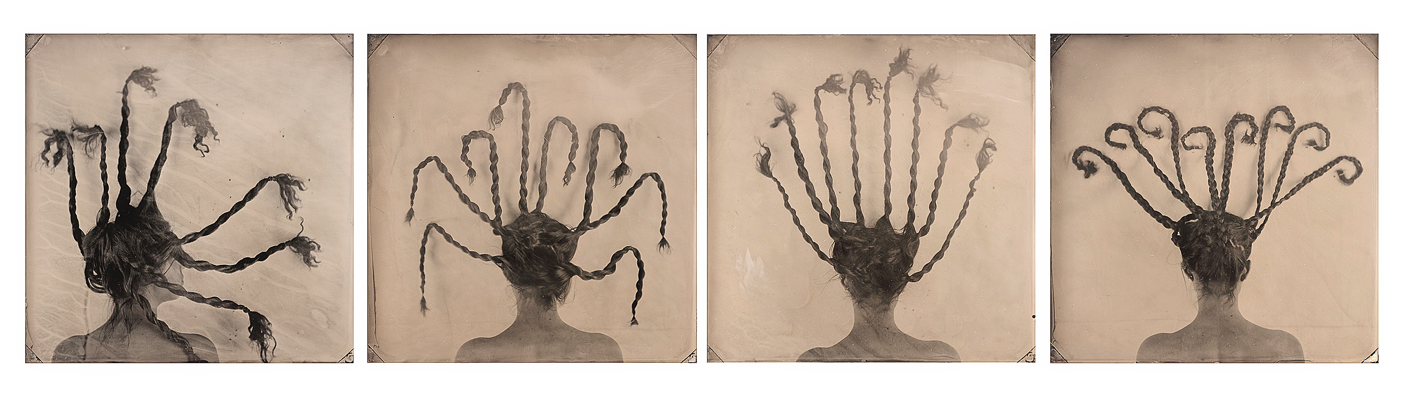 Homage to Louise Bourgeois (Quadriptych)