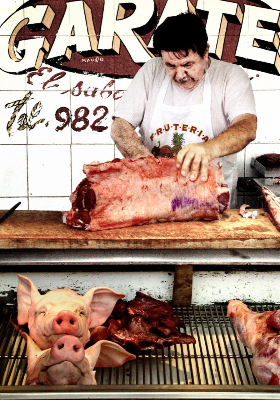 Meat Man - Mazatlan