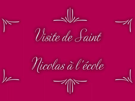 Visite de saint Nicolas , connecté en direct depuis le ciel !