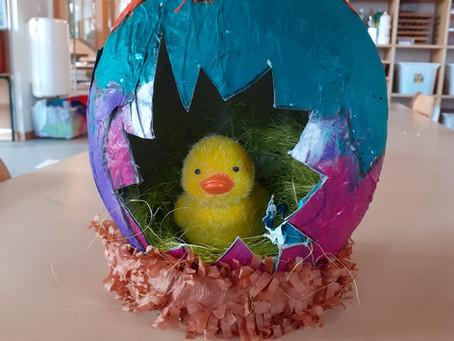 Le lapin de Pâques est passé !