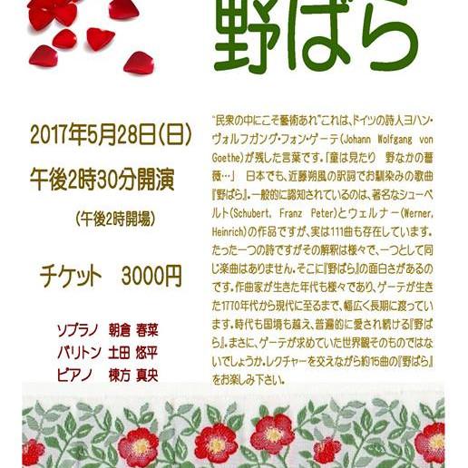 野ばらプロジェクト - Nobara Project -第2回コンサート