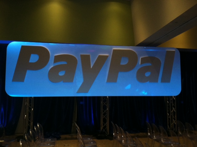 PayPal sign for Projection Mapping