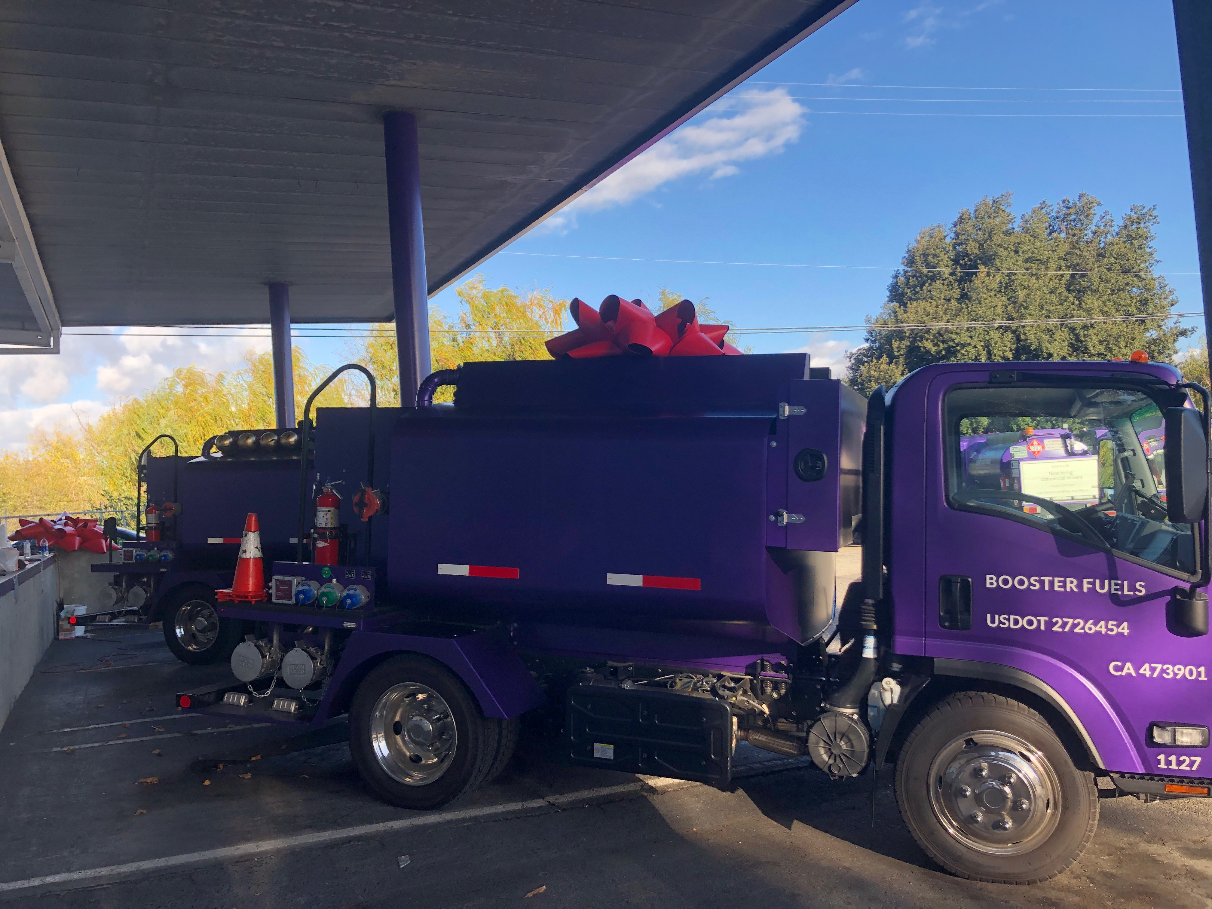 4' Bow for Holiday Truck Decor