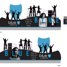 Blue Shield Float Design