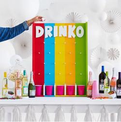 Custom DRINKO game board