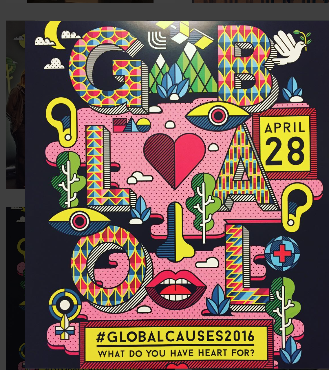 #GlobalCauses2016 event at Facebook