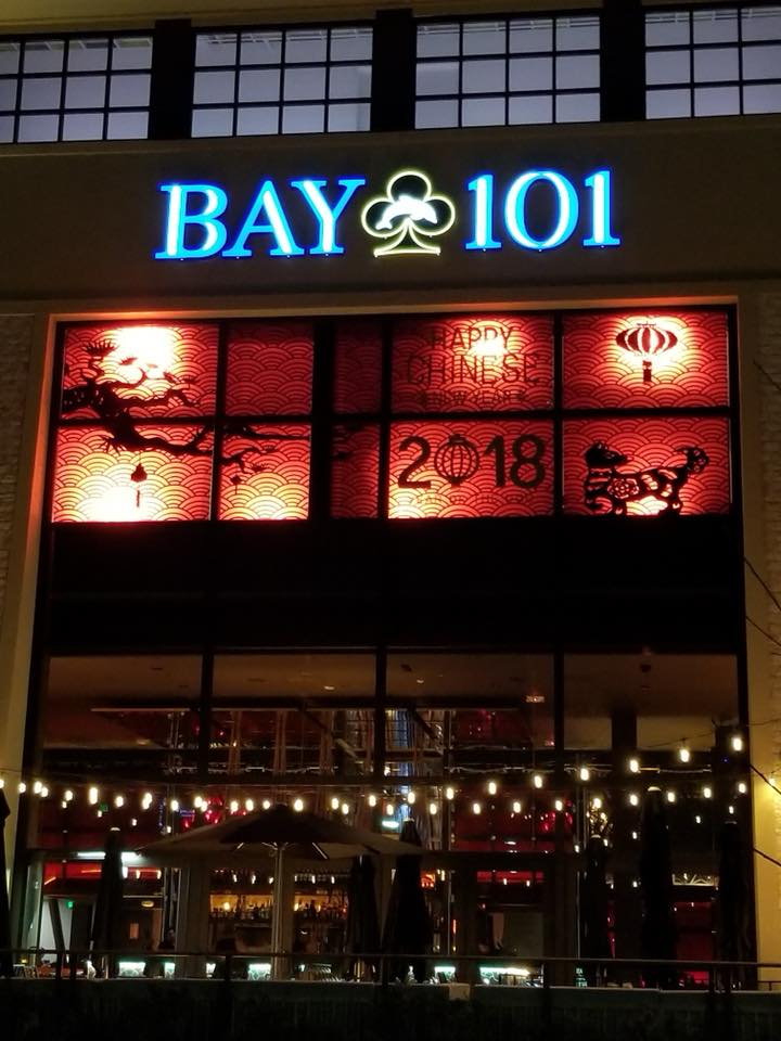 Bay 101 Window Decor